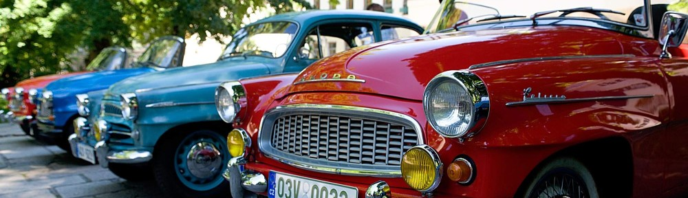Veteran Car Club Písek
