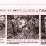 XV. písecká jízda historických vozidel, Palackého sady 9.6.2014